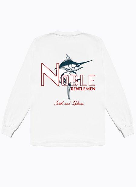 Noble Gentlemen Trading Co. Fishing Club Long Sleeve Tee