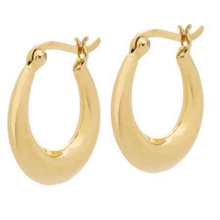 Joy Dravecky Forever Earrings - Gold
