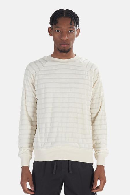 La Paz Cunha Sweatshirt Sweater - Off-White Stripe
