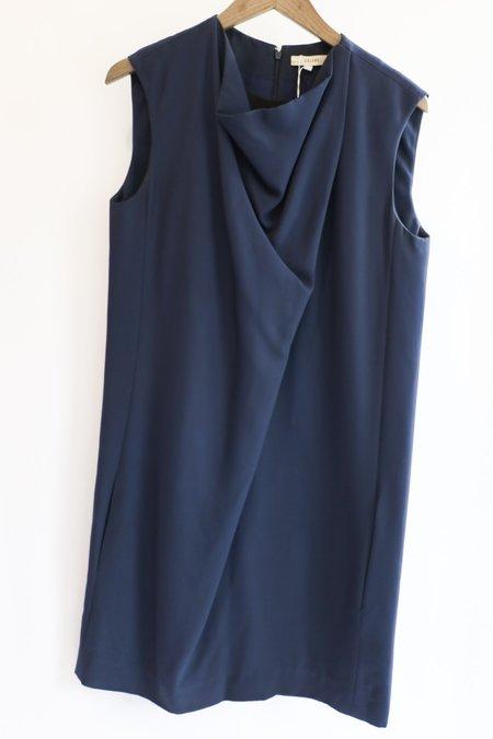 [Pre-loved] Celine Midi Dress - Navy