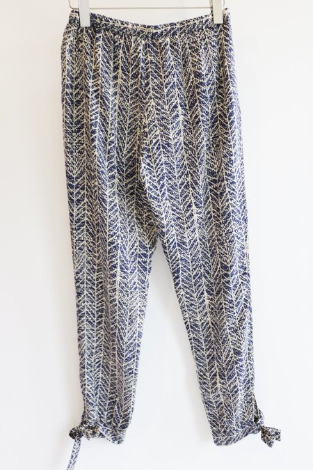 [Pre-loved] Sea NY Printed Pants - Blue/White