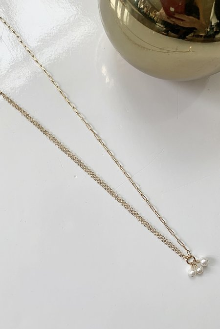Charme Silkiner Minnie Necklace - Gold