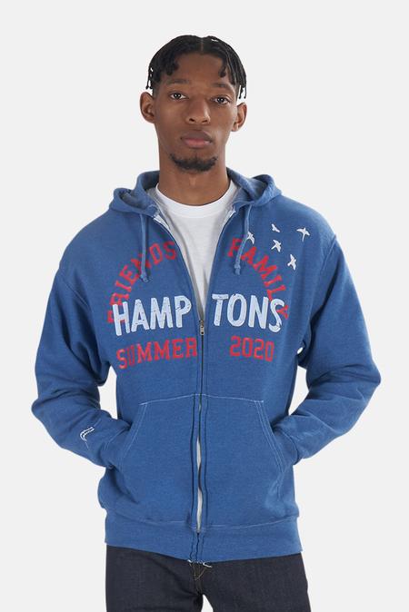 Blue&Cream Friends/Family Hoodie Sweater - Heather Blue