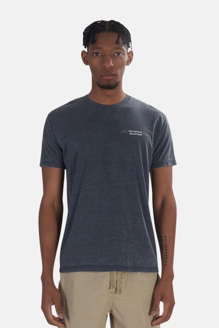Blue&Cream x Kinetix Hamptons Essential T-Shirt - Charcoal