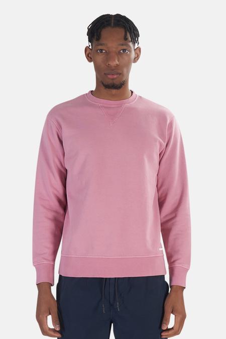 President's Stone Wash Crew Sweater - Rose
