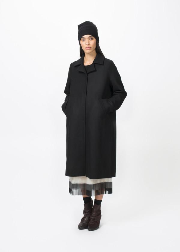 Hudson Single Breasted Oversize Coat