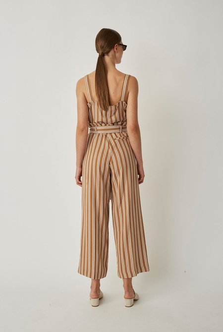 Just Female Wendy Trousers - Thrush Stripe