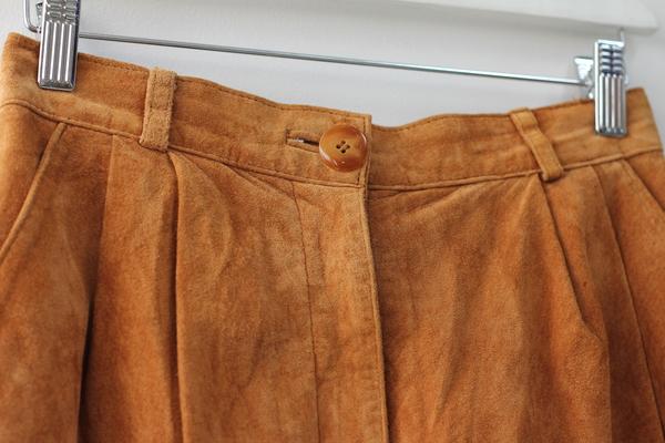 Hey Jude Vintage Suede Shorts