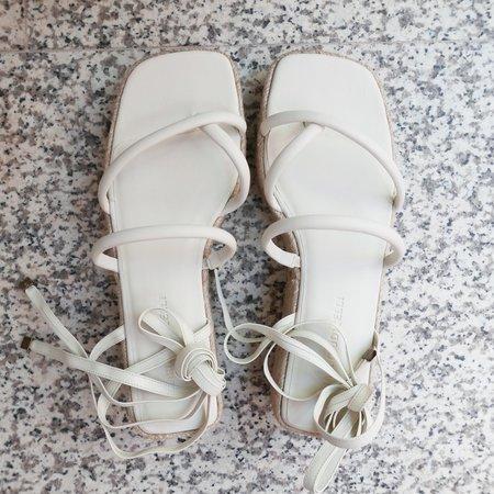 Mari Giudicelli Mica Platform Sandal - Off White