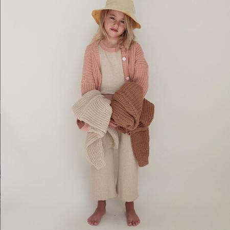 Kids Summer & Storm Chunky Color Block Pullover - Beige/Coral