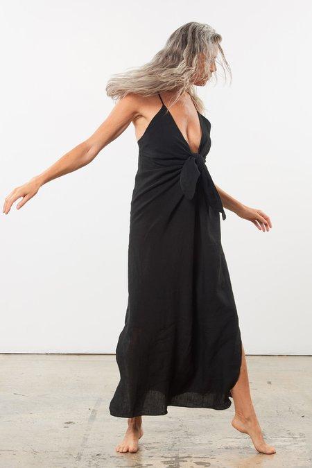 Mara Hoffman Lolita Dress - Black