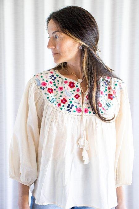 Carolina K Blossom Top - Off White