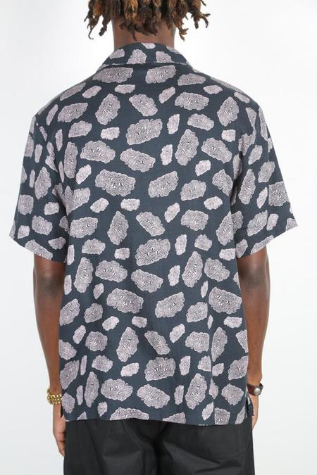 Magic Castles CAMP COLLAR SHIRT - SHAPES PRINT