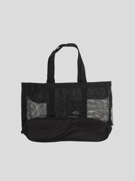 Stussy Mesh Beach Tote Bag - Black