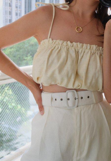 SELVA / NEGRA linen flo belt