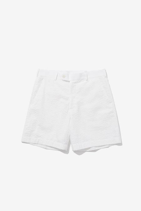 SENTIBONES SEERSUCKER SHORTS - White