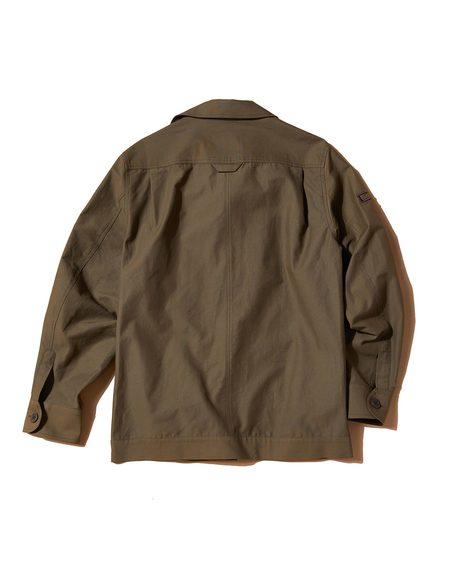 Sentibones Sea Man Canvas Shirts Jacket - Khaki