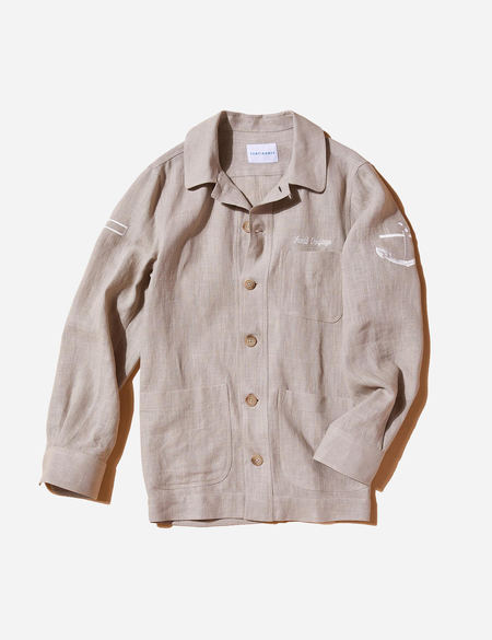 Sentibones Sea Man Linen Shirts Jacket