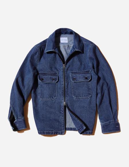 Sentibones Denim Zip Up Shirts Jacket