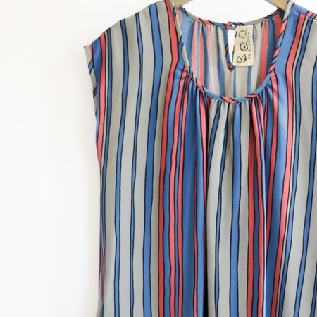 [pre-loved] Sea NY Striped Mini Dress - multicolor
