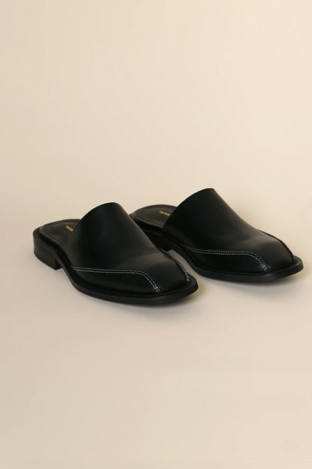 """""""INTENTIONALLY __________."""" Paid Mules - Black"""