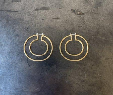 Odette New York Cinq Hoops - Gold