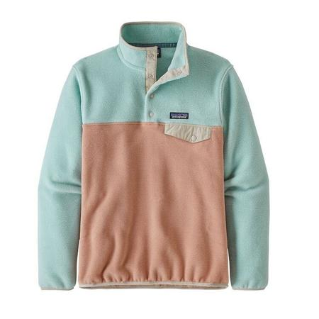 Patagonia Lightweight Synchilla Snap-T Pullover - Scotch Pink