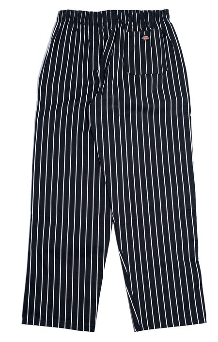 Dickies Chef Baggy Pants - Black/White