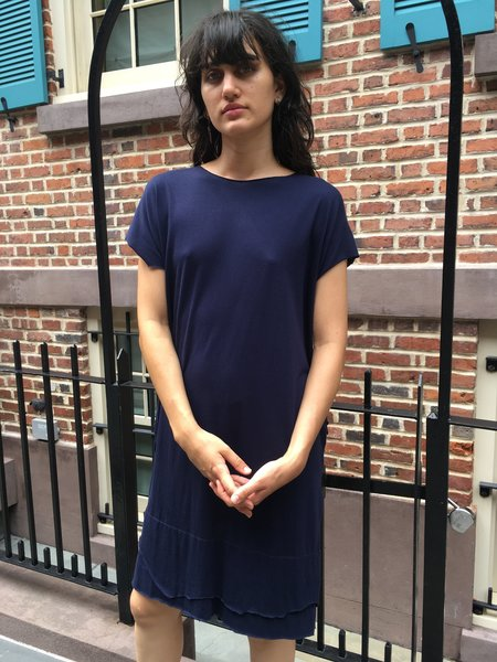 Alexa Stark Tee Shirt Dress - Navy