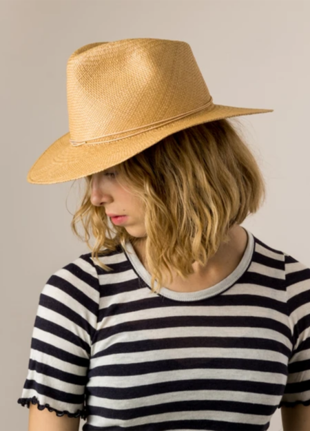 Brookes Boswell Prescott Hat - Natural