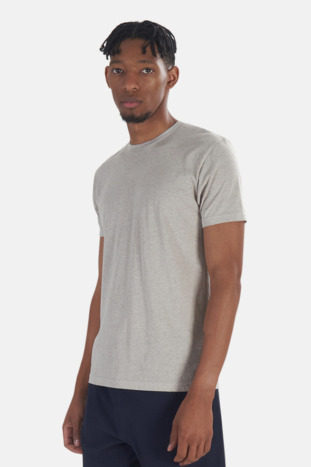 Blue&Cream x Kinetix Basic Burnout T-Shirt - Tan