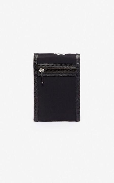 Kenzo Phone Holder On Strap - Black