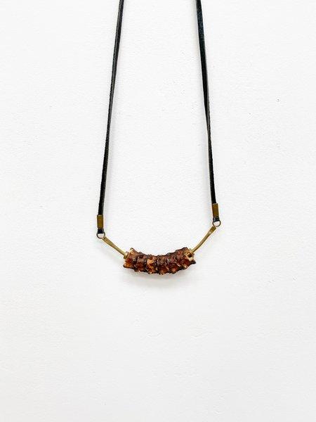 Stash Co Snake Vertebrae Necklace