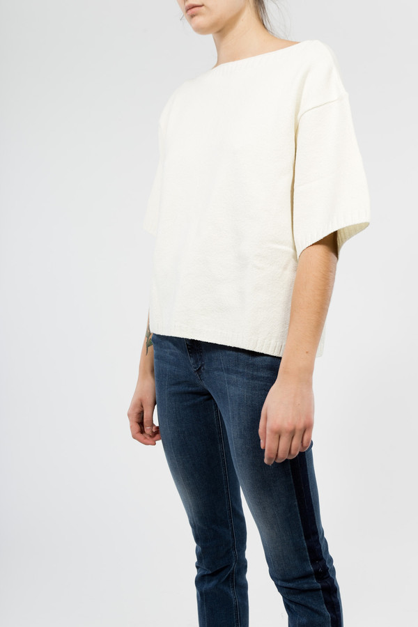 You Must Create Back Knit Tee