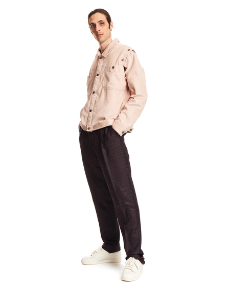 unisex Telfar Jacket in Cotton - Pink