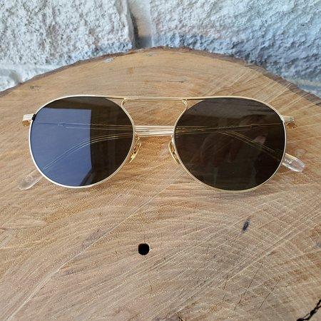 Krewe RAMPART Glasses - 24K TITANIUM/CRYSTAL