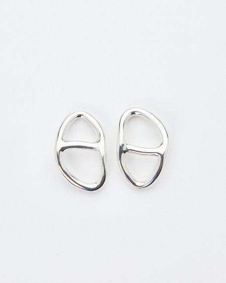 Luz Oritz Leon Earrings - Silver