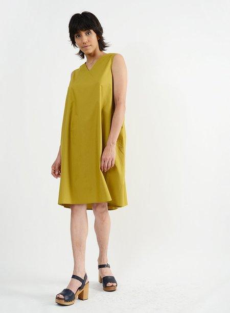 Meg Nova Gathered Back Babydoll Dress - Avocado