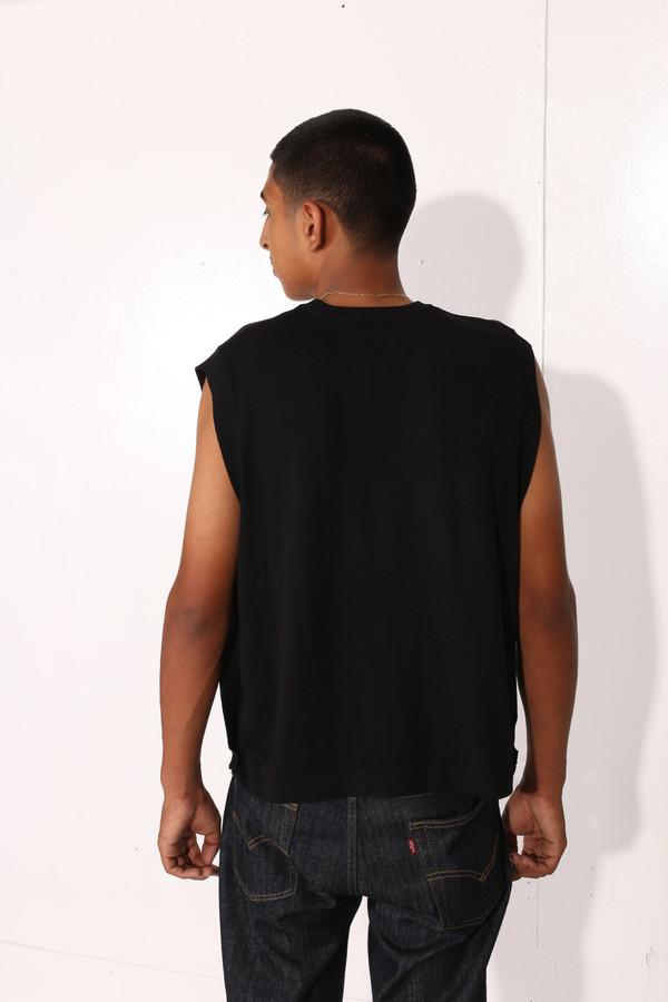 Men's Intentionally Blank CANNA TOP Black