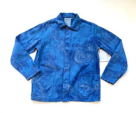 Unisex Alexa Yurianna Anderson Tie Dye Olympic Jacket - Indigo
