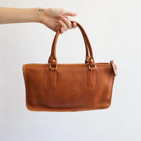 Vintage Coach Handbag - Tan