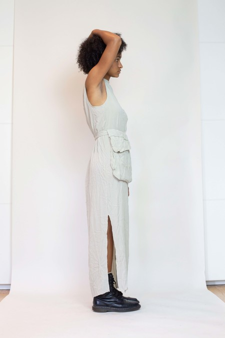 Vincetta Gallerie Dress with Pocket - Sandstorm