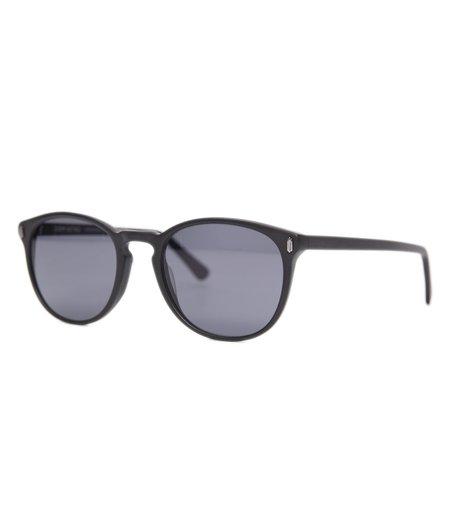 Dom Vetro X Freemans Sporting Club M01 Sunglasses - Jet Black