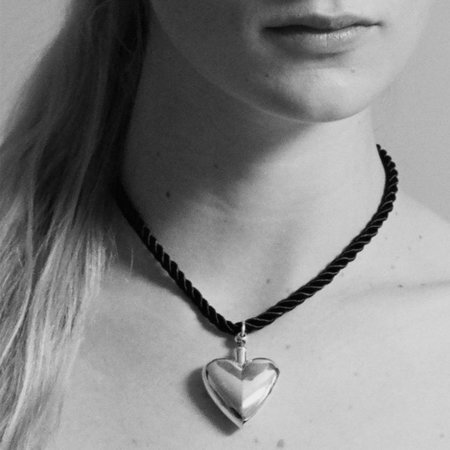 Sophie Buhai Heart Perfume Collar - Gold
