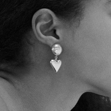 Sophie Buhai Love Earrings - Silver