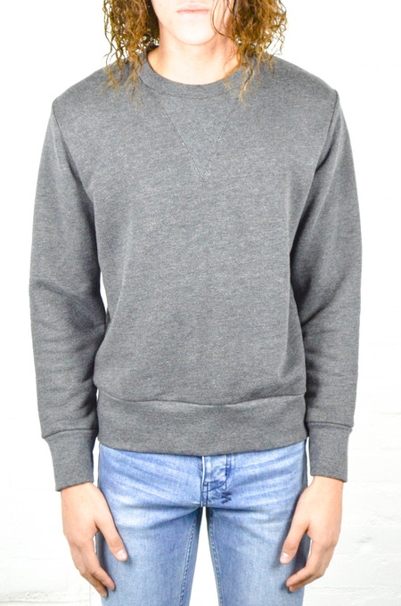 Men's 18 Waits Charcoal French Terry Crew Sweatshirt