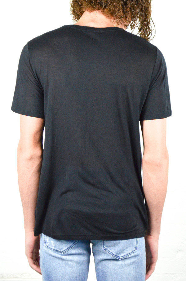 Men's ATM Anthony Thomas Melillo ATM Modal Jersey V-Neck Tee