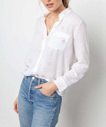 Rails Charli Shirt with Metallic Stars