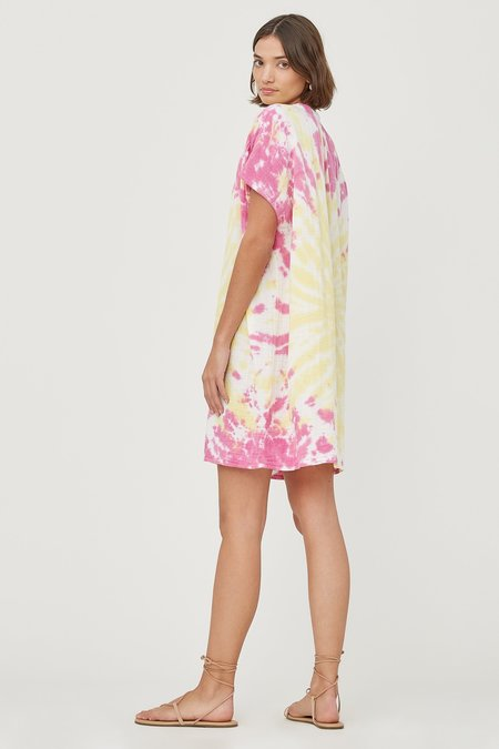 Lacausa Agave Tunic - Pink Lemonade