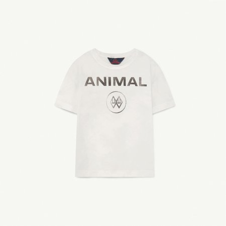 Kids The Animals Observatory Rooster T-Shirt - White